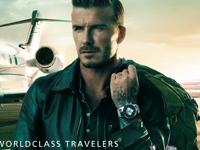 Breitling David Beckham Advertentie
